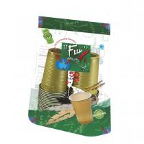Fun® Plastic Cup 7oz - Assorted Colors | 50pcsx20pkts