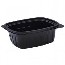Tutipac Black Hot Multipurpose Containers 64oz PP   250pcs