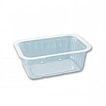 Sealnheat Clear M.Wavable Container 16oz PP | 1600pcs