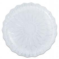 Cristalpac Crystal-Like Plastic Platter ⌀40x3cm - PS | 10kgs