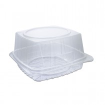 Pastripac Clear Confectionery Box 220x220x100mm PET | 130pcs