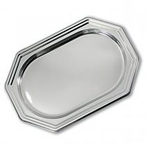 Royal Octagonal Platter 46x31cm - Silver | 50pcs