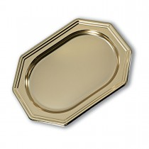 Royal Octagonal Platter 36x24cm - Gold | 50pcs