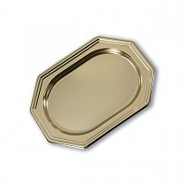 Royal Octagonal Platter 27x19cm - Gold | 50pcs