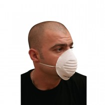 Nonwoven Dust Mask - White | 50pcsx20pkts