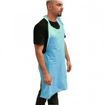 P.E. Disposable Apron 28x46in - Blue | 40pcsx25pkts