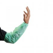 LDPE Sleeve Cover 20x40cm Green | 100pcsx20pkts