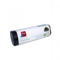 Fun® Biodegradeable Grabage Bag on roll  w/tie  80x110cm - Black | 25pcsx12rolls