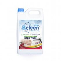 Bcleen® Pro Antibacterial Hand Wash w/ Moisturizer 5000ml - Rose | 4pcs