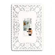 Fun® Doily Rectangular 10x14.5in - White | 250pcsx8pkts