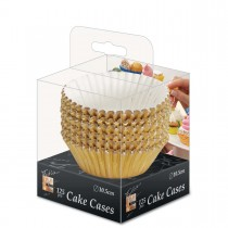 Fun® Paper Cake Case ⌀10.5cm - Gold | 125pcsx32pkts