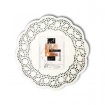 Fun® Round Doily ⌀7.5in - White | 250pcsx8pkts