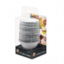 Fun® Paper Cake Case ⌀9.5cm - Silver | 250pcsx25pkts