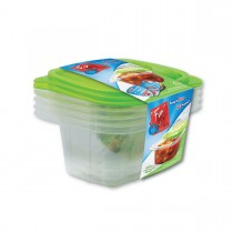 Fun® Multipurpose Containers 16oz + Lid   4pcsx 40pkts