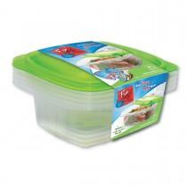 Fun® Multipurpose Containers 32oz + Lid   4pcsx 40pkts