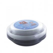Fun® Multipurpose Black Round Container 24oz + Lid | 5pcsx25pkts