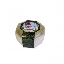 Fun® Octagonal Wooden Cont. ⌀16x4cm w/ Lid | 4pcsx12pkts