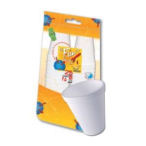 Fun® Foam Cup 6oz - White | 25pcsx40pkts
