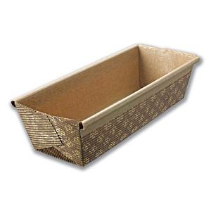Rectangular Paper Baking Mould 260x50x67mm | 1000pcs