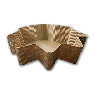 Fancy Paper Baking Mould ⌀235x60mm - Star | 810pcs