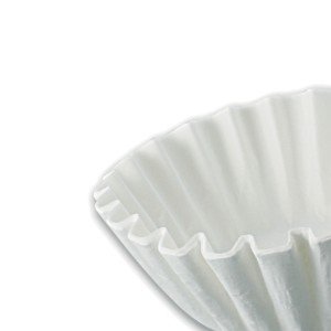 12-Cup Coffee Filter ⌀25cm- White | 1000pcs