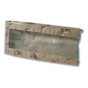 Paper Bread Bag w/ Window 35x14.2+4.3cm | 1000pcs