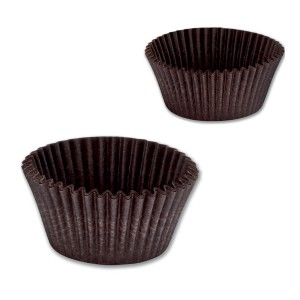 Paper Cake Case ⌀25x15mm - Brown | 1075pcsx48pkts