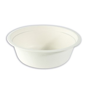 Biodegradable Moulded-Fibre Bowl 16oz | 50pcsx20pkts