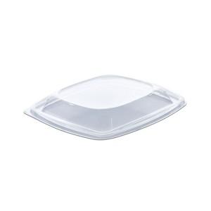 Classipac Lid for Clear Plastic Square Container 05CS24/32/48T - PET | 50pcsx6pkts