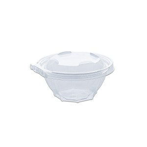 Classipac Tear and Pull Clear Round Container 16oz - PET | 300pcs