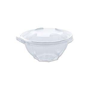 Classipac Tear and Pull Clear Round Container 24oz - PET | 200pcs