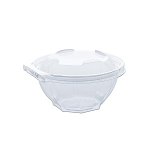 Classipac Tear and Pull Clear Round Container 32oz - PET | 240pcs