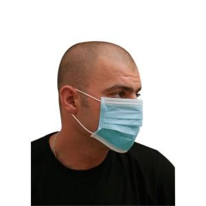 3-Ply Nonwoven Mask - Blue | 1000pcs