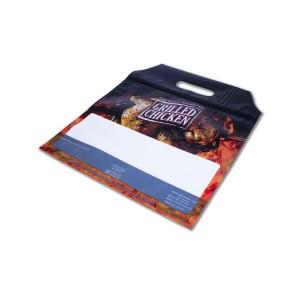 Plastic Ovenproof Sealable Chicken Bag w/ Handle 270x305+45mm | 1000pcs
