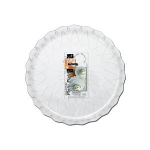 Fun® Crystal-Like Plastic Plate ⌀24cm | 5pcsx22pkts