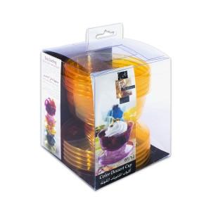 Fun® Coloured Dessert Cup - Citrus | 6pcsx24pkts
