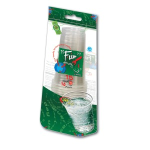 Fun® Clear Plastic Cup 20oz | 15pcsx20pkts
