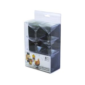 Fun® Verrine Crystal Mini-Cocktail Glass 56ml - Trans. | 6pcsx6pkts