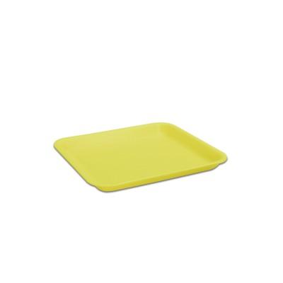 Foam Tray 216x178x20mm - Yellow   250pcs