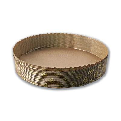 Round Paper Baking Mould 32oz - ⌀185x35mm   600pcs