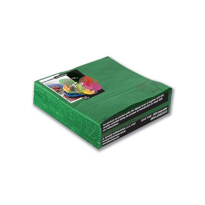 Fun® 2-Ply Napkin 33x33cm - Green   50pcsx27pkts