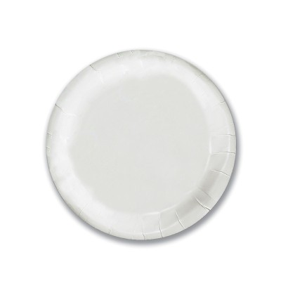 Extra-Strong Paper Plate ⌀7in - White | 50pcsx20pkts