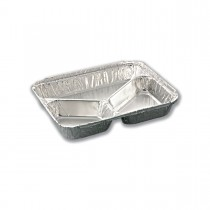 3-Comp. Aluminium Container (12+8+6oz) size 227 x 178 x 29mm | 600pcs
