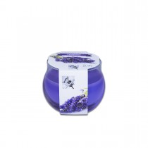 Fun® Scented Candles in Round Glass 8x7.2cm - Lavender | 1pcx6pkts