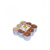 Fun® Scented Tealight Candles 3.8x1.5cm - Orange | 18pcsx6pkts