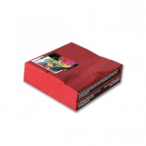 Fun® 2-Ply Napkin 33x33cm - Red | 50pcsx27pkts