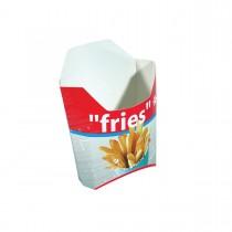 Cardboard Fries Pack - Small | 1000pcs