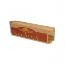 Paper Sandwich Bag 350x90+65mm | 1000pcs