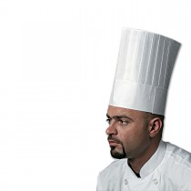 Chefs Paper Hat 10in - Round Top | 250pcs