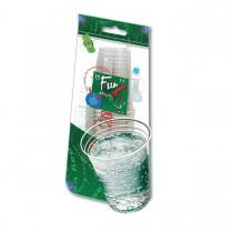 Fun® Clear Plastic Cup 8oz   25pcsx40pkts